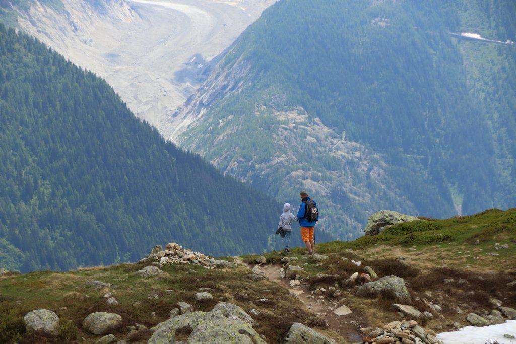 На маршруте lacs de Chéserys (долина Chamonix-Mont-Blanc)