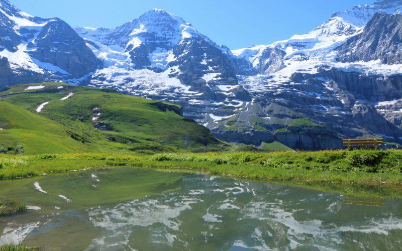Jungfrau, Silberhorn (Kleine Sheidegg)