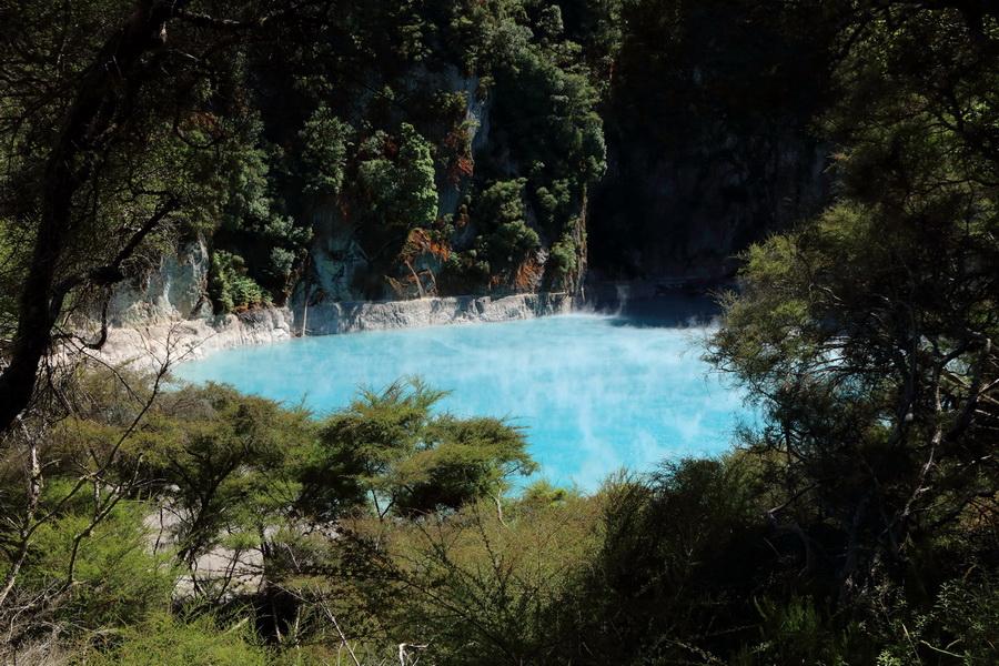 Crater Inferno, Waimangu valley