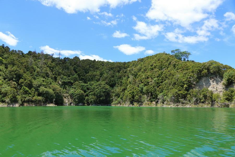 Lake Rotomohana, Waimangu