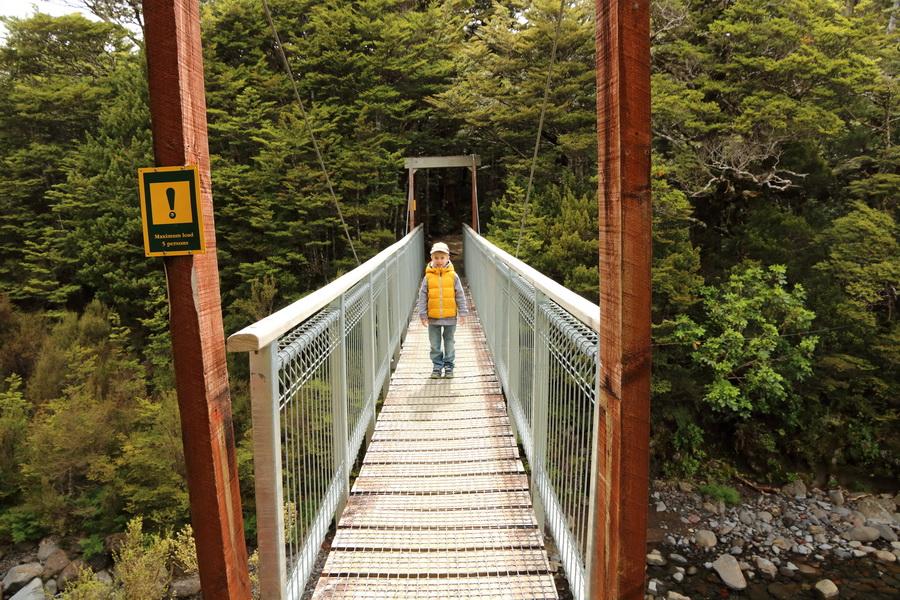 Waitong Falls hiking