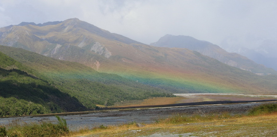 Arthur's Pass rainbow