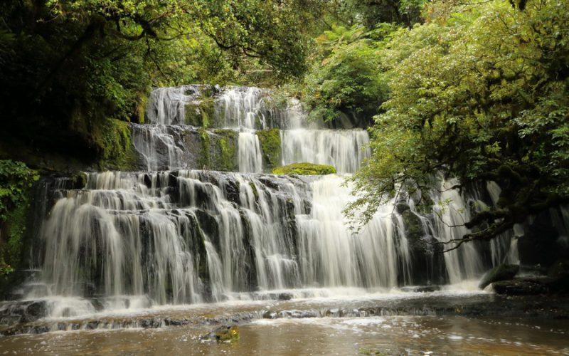 Purakaunui Falls, The Catlins
