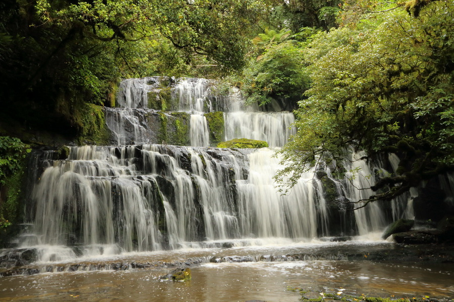 Purakaunui Falls, The Catlins