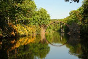 Rakotzbrücke, Kromlau Park