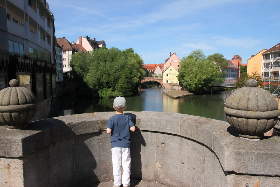 Нюрнберг, мосты через Пегниц