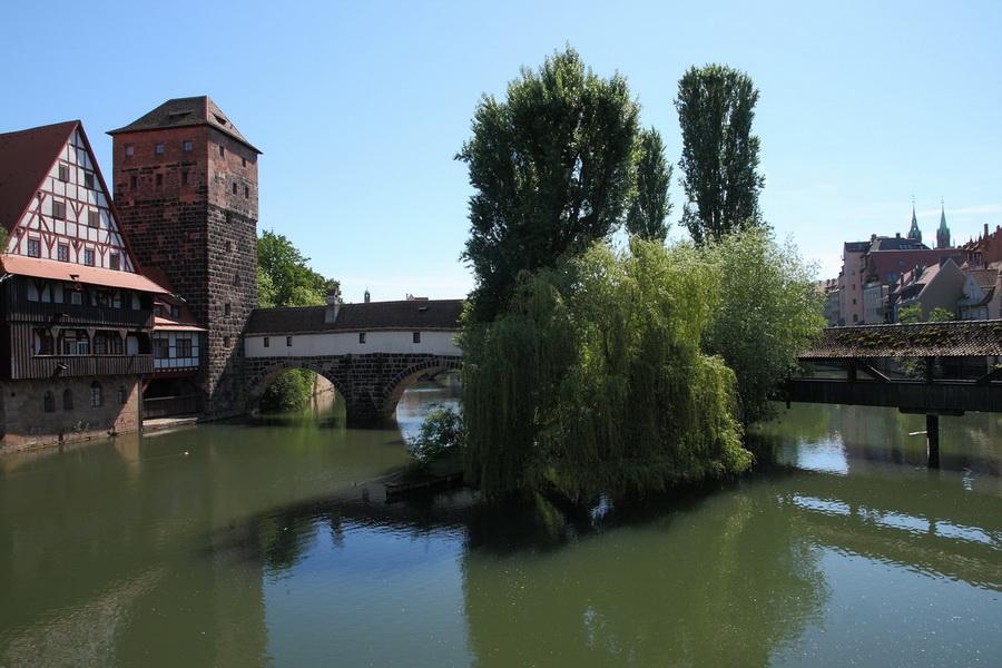 Нюрнберг, мосты через Pegnitz