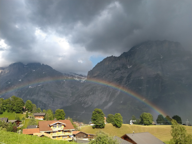 Grindelwald радуга
