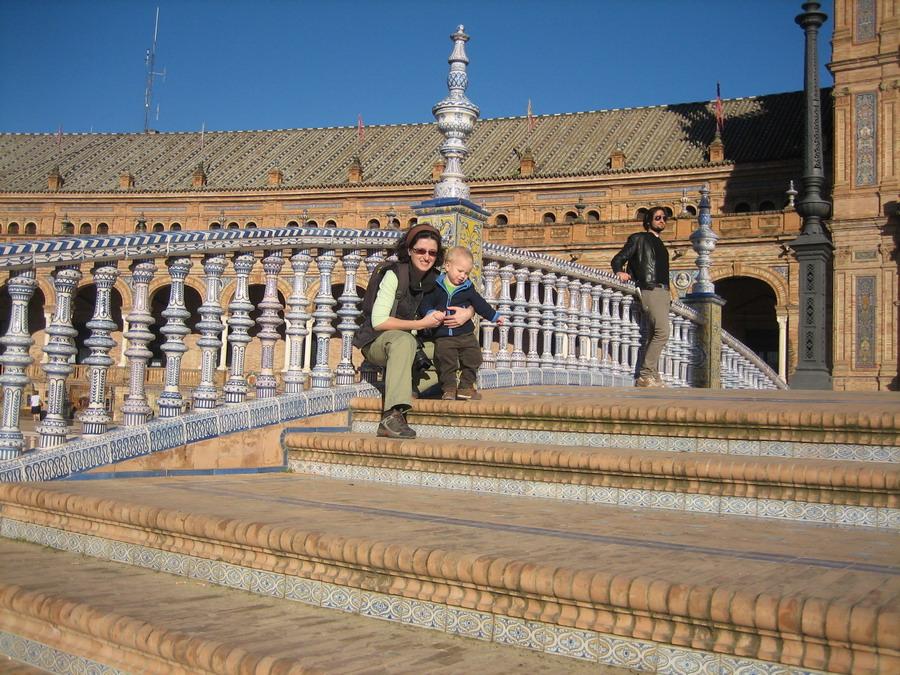 Sevilla, Plaza de España