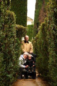 В лабиринте при дворце Алькасар, Севилья