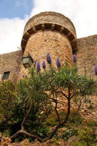 Крепостная башня в Обидуше