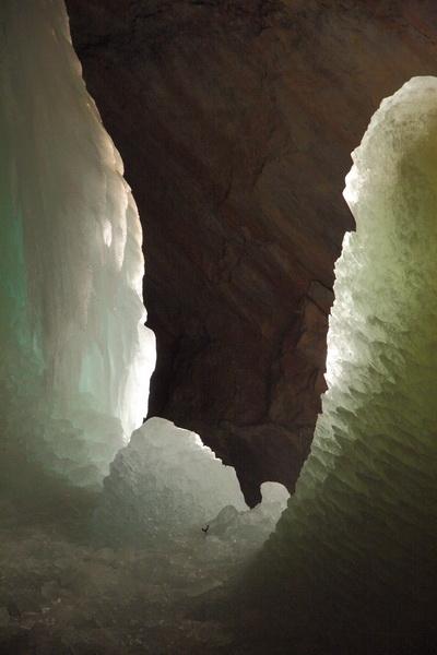 Ледяные пещеры, Криппенштайн