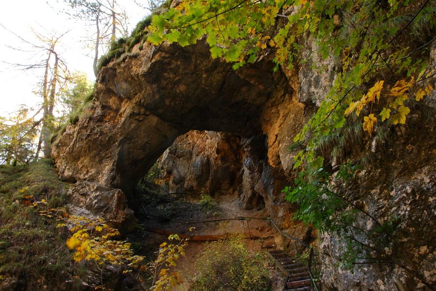 Ущелье Tscheppashlucht, арка