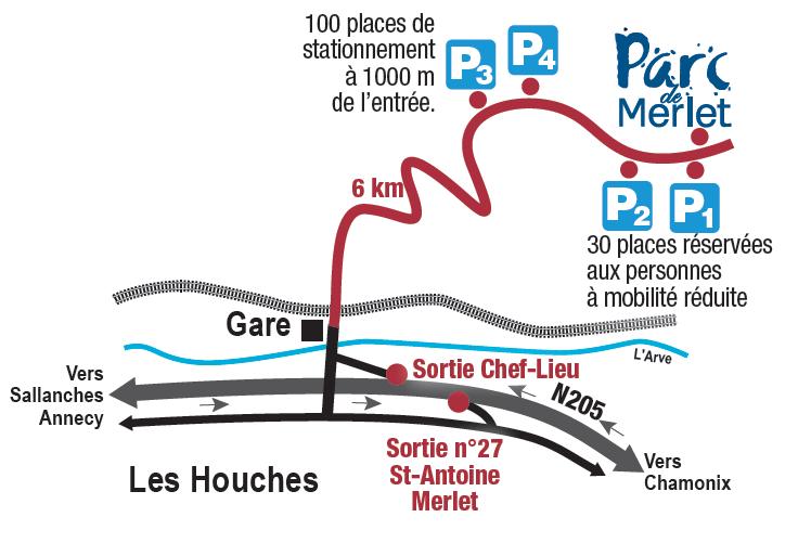 parc de merlet map
