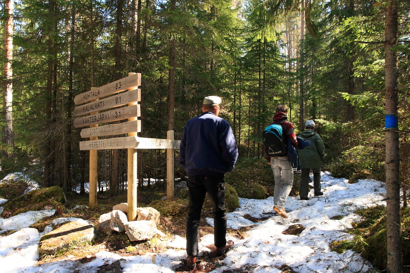 finland isojarvi hiking