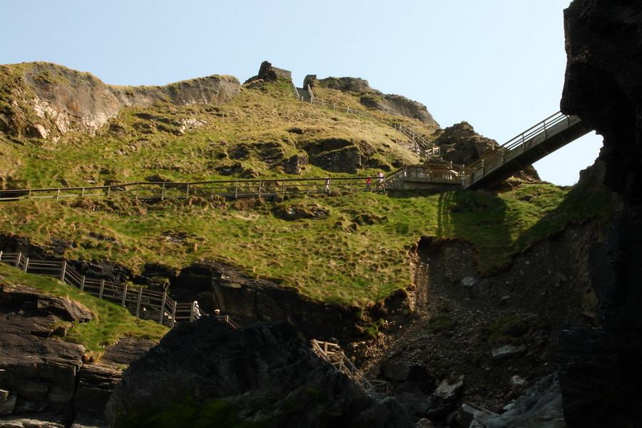 Тинтаджел, переходы и лестницы