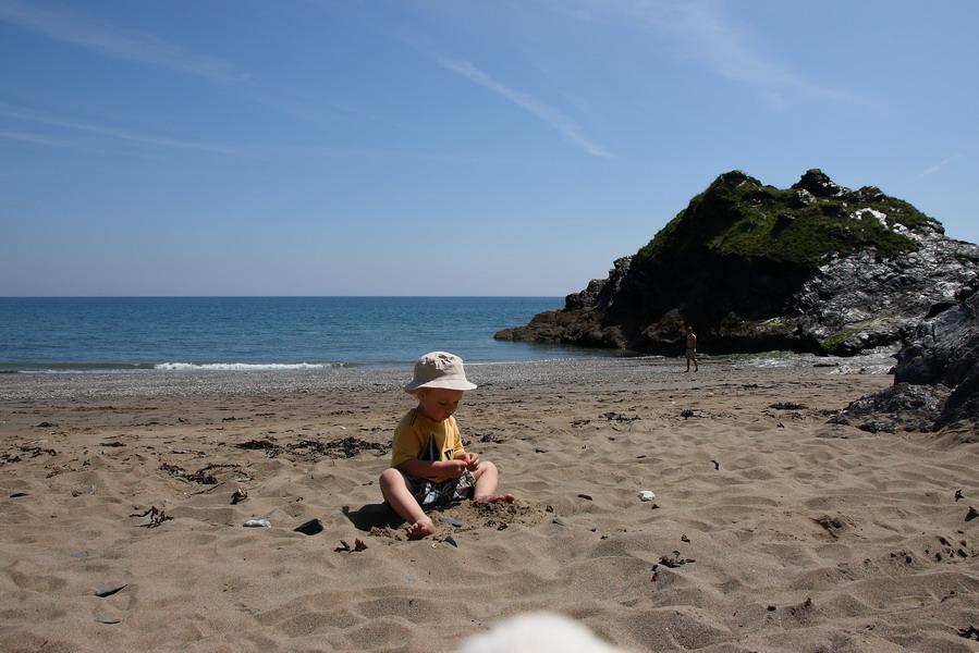 Mevagissey beach