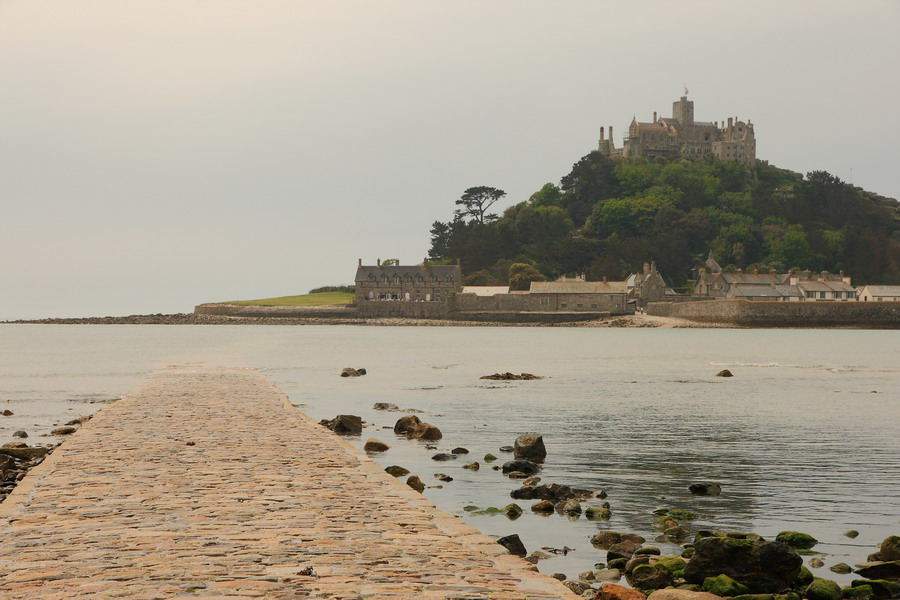 St Michael's Mount, high tide
