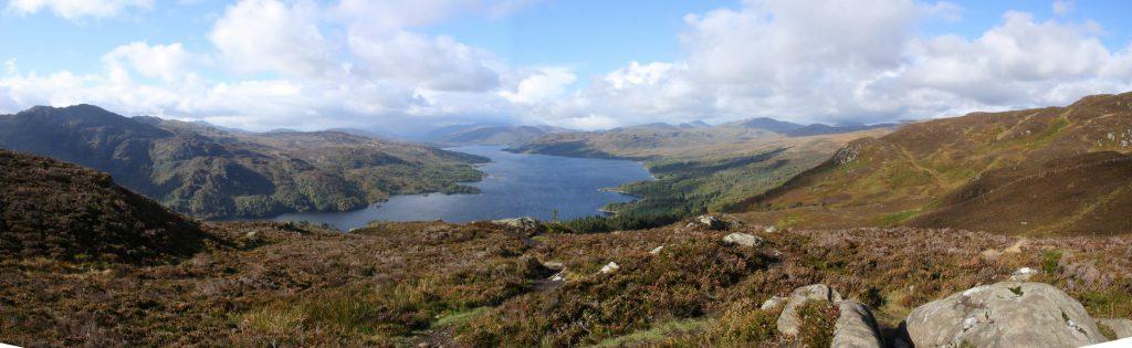 Loch Katrin, Ben A'an