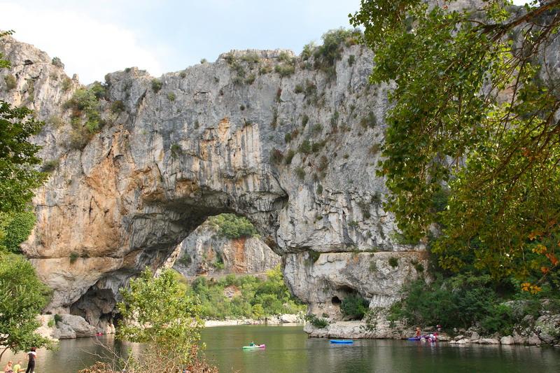 Gorges de l'Ardeche (Pont d'Arc)