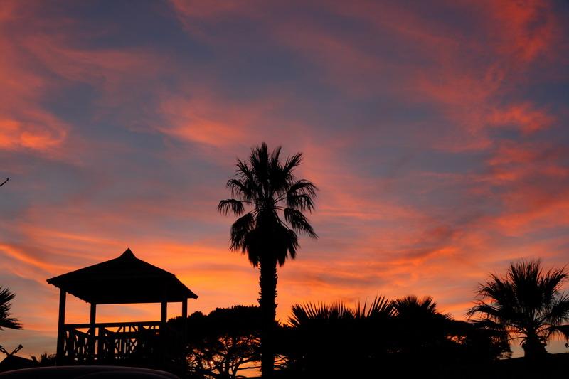 port-grimaud sunset