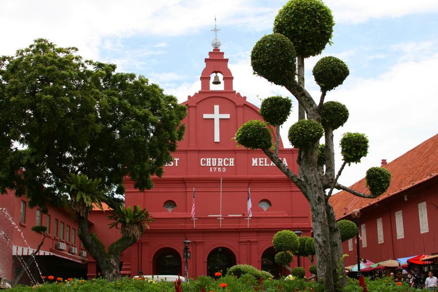 Melaka церковь-музей