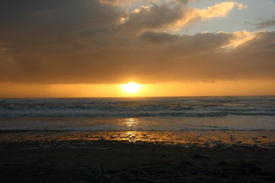 закат над Тасмановым морем