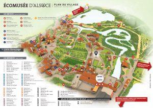 Ecomusée d'Alsace map