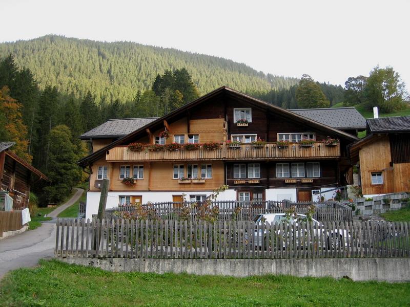 grindelwald bergscheuer chalet