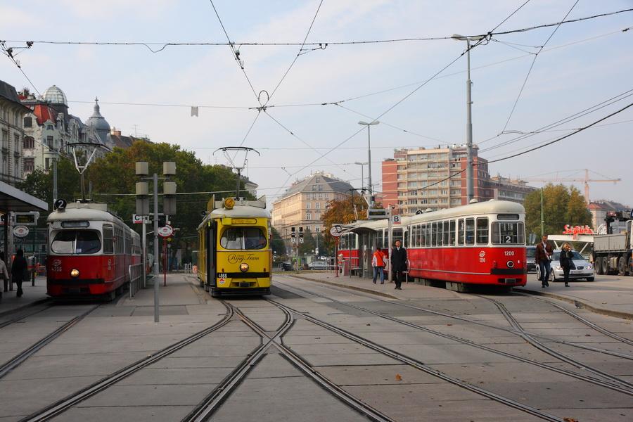 венские трамвайчики