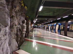Stockholm, tunnelbana: Kungsträdgården