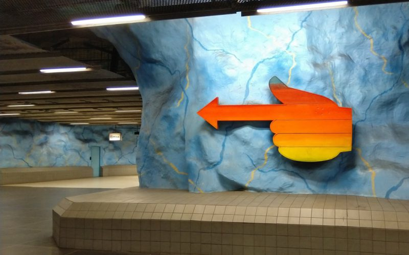 Stockholm, tunnelbana: Stadion