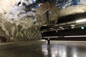 Stockholm, tunnelbana: Tekniska Högskolan