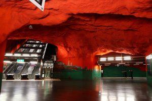 Stockholm, tunnelbana: Solna Centrum